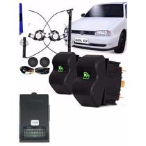 Kit Vidro Eletrico Gol G2 Bola 2 Portas Sensorizado