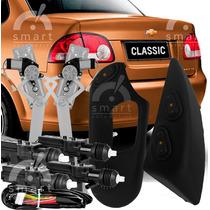 Kit Vidro Elétrico Corsa Classic Diant. Com Trava Elétrica