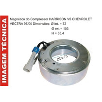 Bobina Magnetico Do Compressor Harisson V5 Gm Corsa / Vectra