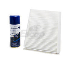 Filtro Ar Condicionado + Higienizador Nissan Versa March