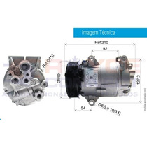 Compressor Scenic Ii /megane Ii/grand Scenic 1.9/2.0+filtro