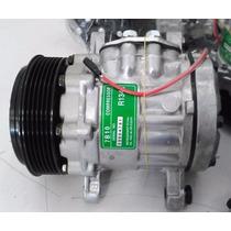 Compressor Ar Condicionado 7b10 Adap Corsa Celta 1.0 - Novo