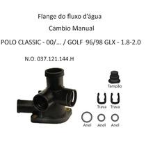 Flange Fluxo Agua Golf 96 A 98/ Polo Classic 00/. Mecanico