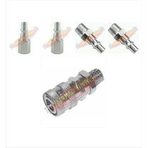 Engate Rápido Conectores Kit C/ 5 Peças - Ar Comprimido 1/4