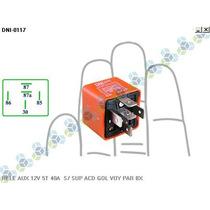 Rele Auxiliar 12v 5t 40a S/ Suporte Ar Condicionado Gol