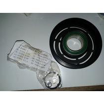 Polia Ar Condicionado C/ Rolamento Gol G2 G3 G4 Original Vw