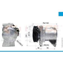 Compressor Uno Fire/uno Novo/ Palio Fire 1.0 Calsonic