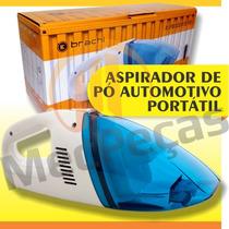 Aspirador De Pó Automotivo Portátil Todos Carros 12v