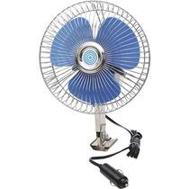 Ventilador Carro Veicular Portátil Loud 15cm 12v Acendedor