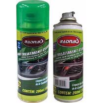 Spray Limpa Ar Condicionado Fragrância Carro Novo Radnaq
