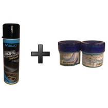 Limpa Ar Condicionado Automotivo Residencial 300ml M500 Kit