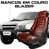 Kit Capas Banco De Couro Blazer - Peças Blazer Couro Blazer