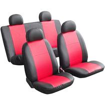 Capas Courvin Vermelho Para Bancos Automotivos Frete Grátis