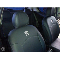 Capa D Couro Sintetico Couro Courvin Para Peugeot 206/207