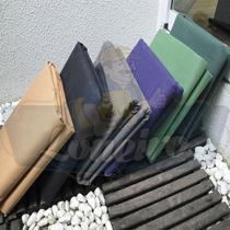 Encerado 5x1,57 M Algodão Preto Tecido Impermeável Lona 08