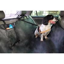 Capa Protetora Banco Traseiro Pet Com Cinto De Segurança