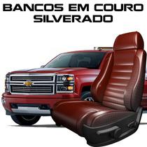 Acessorios Silverado Capas De Banco 100% Em Couro Silverado
