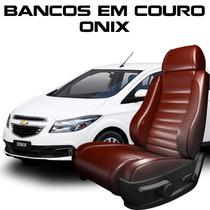 Acessorios Onix - Capas De Banco 100% Em Couro Onix