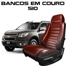 Acessorios S10 - Capas De Banco 100% Em Couro S10 Banco S10