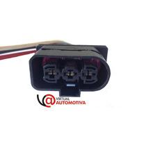 Chicote Plug Conector Ventoinha: Gol, Saveiro, Voyage, Fox