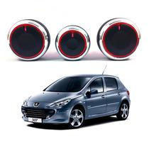 Peugeot 307 Botão Ar Condicionado Iluminação Acessorios
