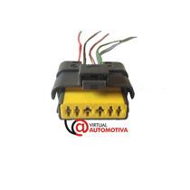 Soquete Plug Corpo Tbi Palio/siena/strada/doblo 1.8 6 Vias