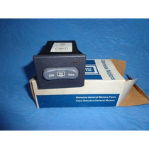Interruptor Desembaçador Do Vidro Da S10 E Blazer 1996/2000