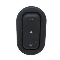Botão Interruptor Vidro Elétrico Gm Simples Agile Led Azul