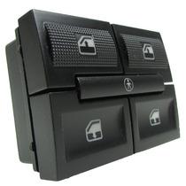 Botão Interruptor De Vidro Elétrico Duplo C/ Bloqueio Gol G3