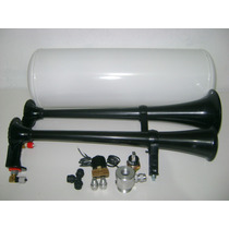Buzina Ar ,compressor,cilindro, 3 Corneta