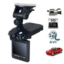 Câmera Hd Video Filmadora Automotiva Tela Lcd +cartão 32gb