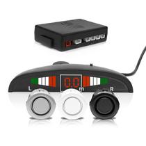 Sensor De Estacionamento Ré 4 Pontos Display Led Sinal Sonor