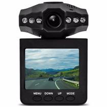 Câmera Filmadora Automotiva Hd C. Visão Noturna Dvr Tela Lcd