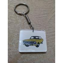 Chaveiro Antigo Chevrolet Opala Dec. De 70 Raro!!