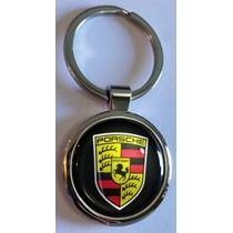 Chaveiro Emblema Porsche Alta Qualidade Cromado Frete Gratis