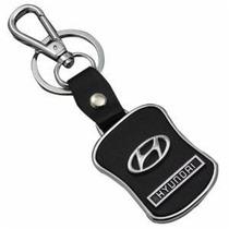Chaveiro Couro Hyundai I30 Hr Tucson Azera Velo Frete Grátis