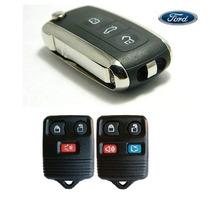 Chave Canivete + Placa P/ Alarme Ford Ecosport Fiesta Ka