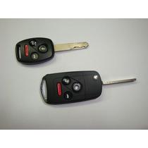 Chave Canivete Honda New Civic Crv Fit City Accord 4 Botões