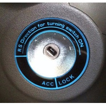 Decoração Ignição Chave - Ford New Fiesta - Adesivo 3m