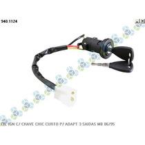 Cilindro De Ignição Com Chave Mercedes-benz 86/95