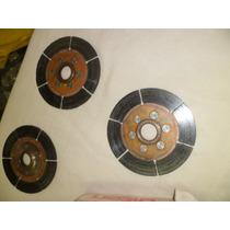 3 Discos Estriados Para Embreagem Tilton De Ceramica 5.5 Pol