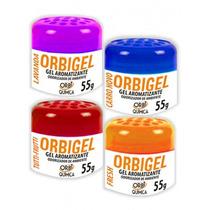 Aromatizante Air Carro Orbigel 55g Odorizador Frete Gratis