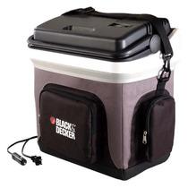 Mini Geladeira Refrigerador Aquecedor Portatil 24l 12v Black