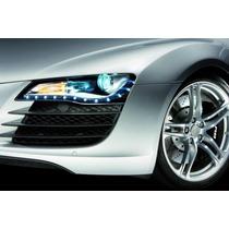 Fita De Led Para Farol Sport Car 30cm ( Super Branca )