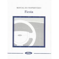 Manual Proprietário Fiesta 2003 2004 Hactback C/suplementos