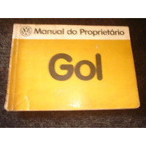 Gol Antigo Manual Do Proprietario Original