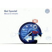 Manual Proprietario Gol Special 2002 Original C/suplementos