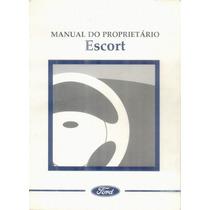 Manual Proprietário Ford Escort 97 98 Original
