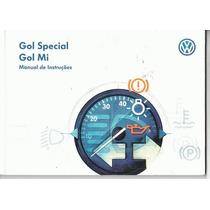 Manual Proprietario Gol Special Ou Mi 2000 Vw Original