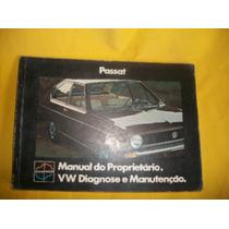 Passat - 1974-l E Ls-manual Do Proprietário-original-raro-